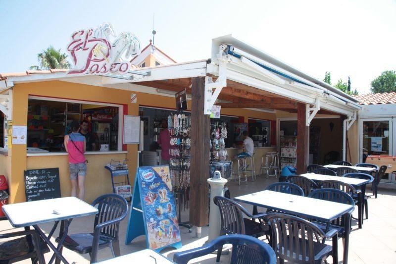 LES JARDINS CATALANS-Le restaurant du camping LES JARDINS CATALANS-ARGELES SUR MER