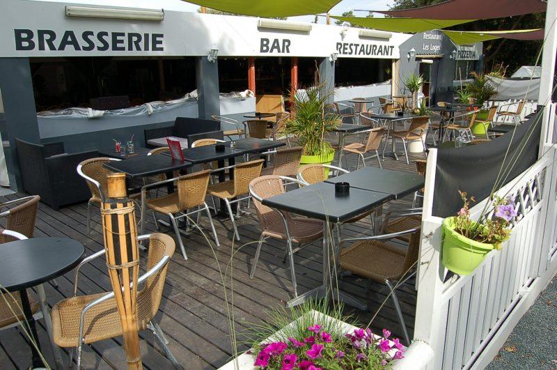 LES LOGES-Le restaurant du camping LES LOGES-MESCHERS SUR GIRONDE