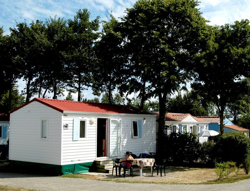 LE PATISSEAU-Les mobil-homes du camping LE PATISSEAU-PORNIC