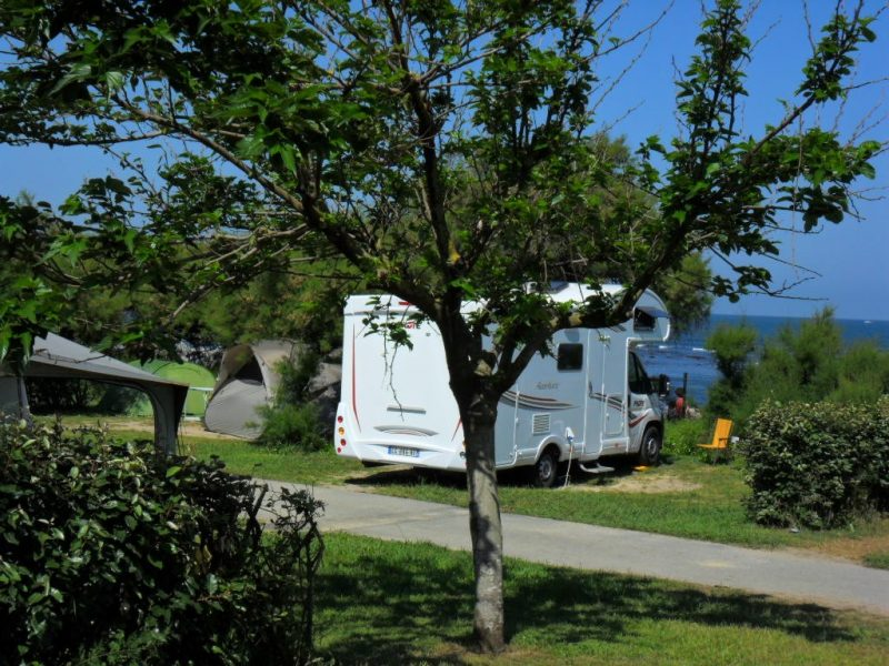 INTERNATIONAL ERROMARDIE - Les emplacements du camping INTERNATIONAL ERROMARDIE - SAINT JEAN DE LUZ
