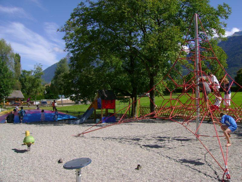 LES FONTAINES-Espace jeux pour les enfants-LATHUILE