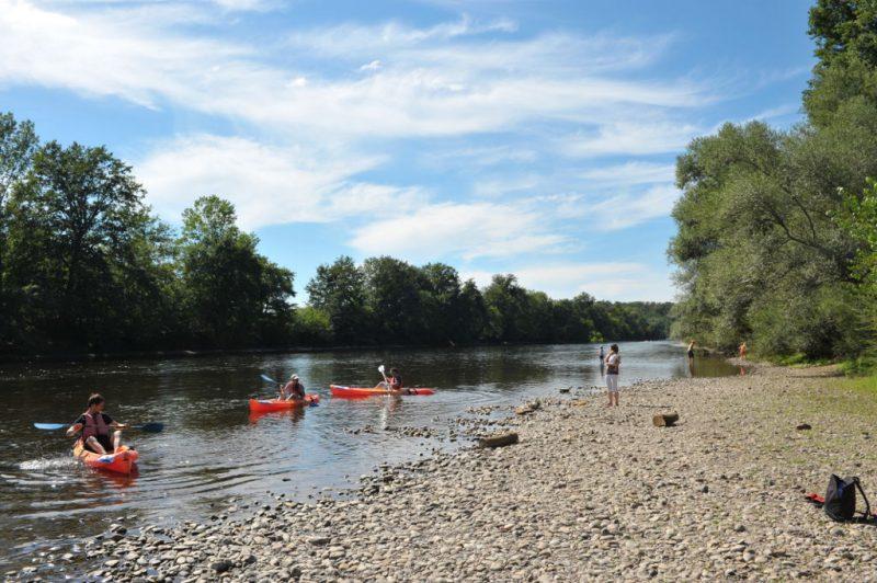 LA SAGNE-Le camping LA SAGNE, das Departement Dordogne-VITRAC