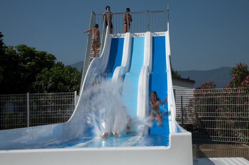 LE MEDITERRANEE ARGELES-Jeux aquatiques au camping LE MEDITERRANEE ARGELES, das Departement Pyrénées-Orientales-ARGELES SUR MER