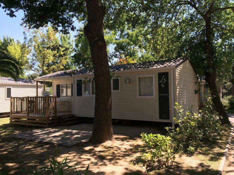 LE MEDITERRANEE ARGELES-Les mobil-homes du camping LE MEDITERRANEE ARGELES-ARGELES SUR MER
