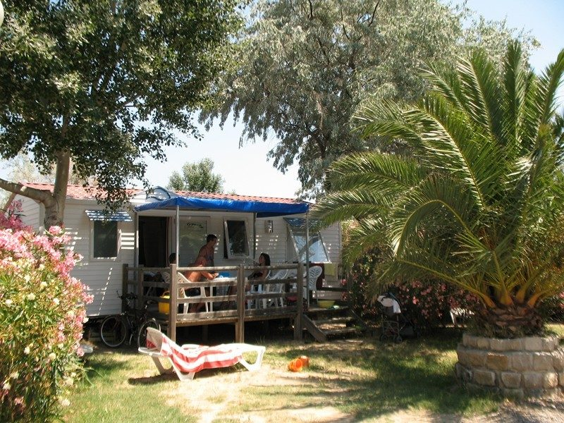 BEAU RIVAGE-Les mobil-homes du camping BEAU RIVAGE-MEZE