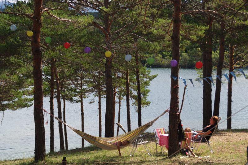 LA FARIGOULETTE-Les emplacements du camping LA FARIGOULETTE-SAINT LAURENT DU VERDON