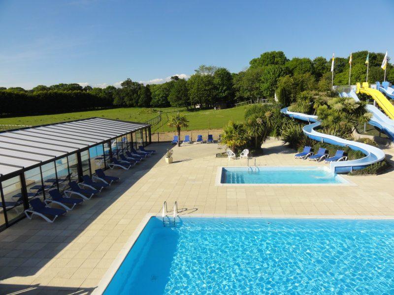 LE HARAS-La piscine du camping LE HARAS-MONTERBLANC