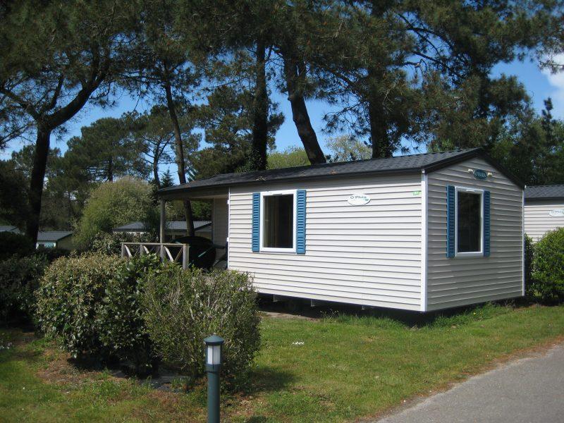 CAMPING PEN PALUD-Les mobil-homes du camping CAMPING PEN PALUD-PLOEMEUR