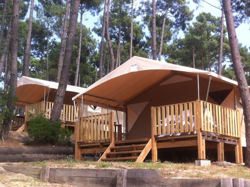 PYLA-CAMPING-Les hébergements insolites du camping PYLA-CAMPING-TESTE DE BUCH