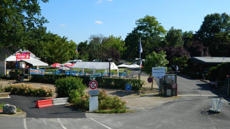 CAMPING LES PEUPLIERS-Le camping CAMPING LES PEUPLIERS, das Departement Indre-et-Loire-MONTLOUIS SUR LOIRE