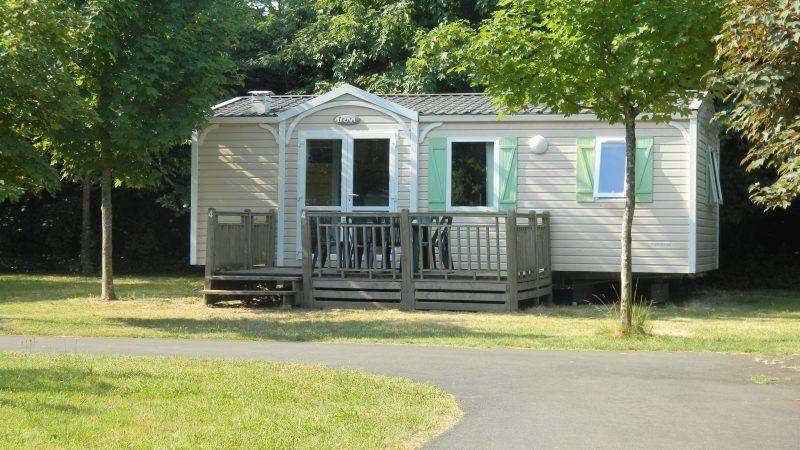 CAMPING LES PEUPLIERS-Les mobil-homes du camping CAMPING LES PEUPLIERS-MONTLOUIS SUR LOIRE