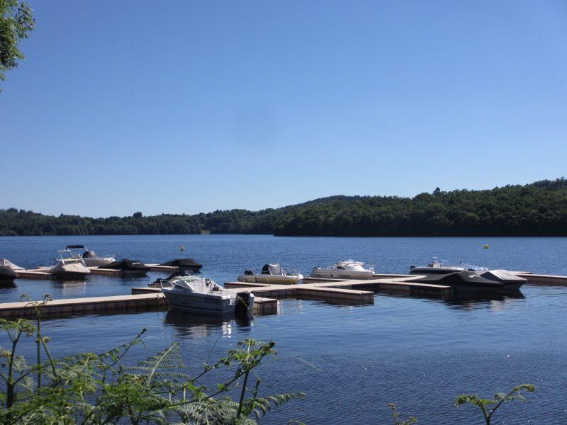 CAMPING DE FREAUDOUR-Un camping en bord de lac das Departement Haute-Vienne-SAINT PARDOUX