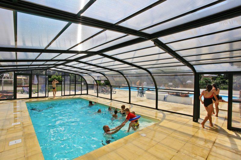 LES 3 CAUPAIN-La piscine du camping LES 3 CAUPAIN-BUGUE