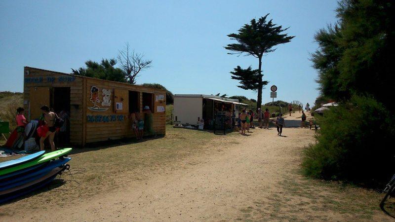 LE MONTET D'OLERON-La plage-DOLUS D OLERON