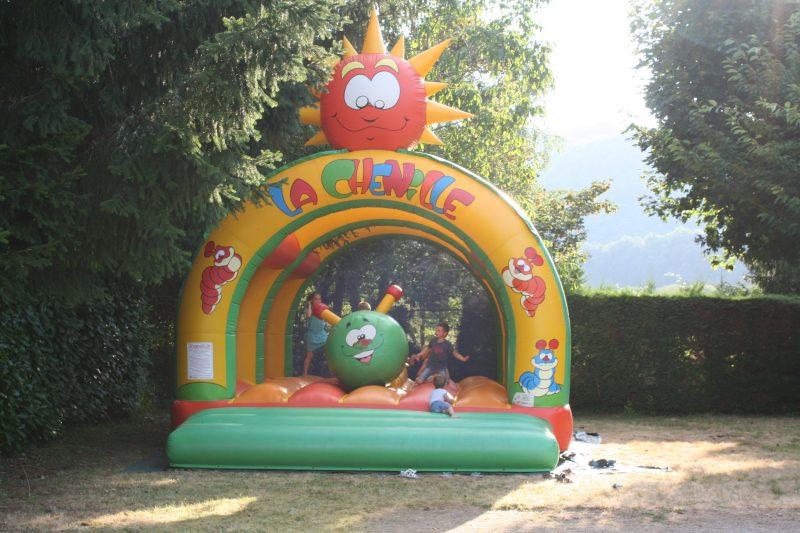 AU SOLEIL D'OC-Espace jeux pour les enfants-MONCEAUX SUR DORDOGNE