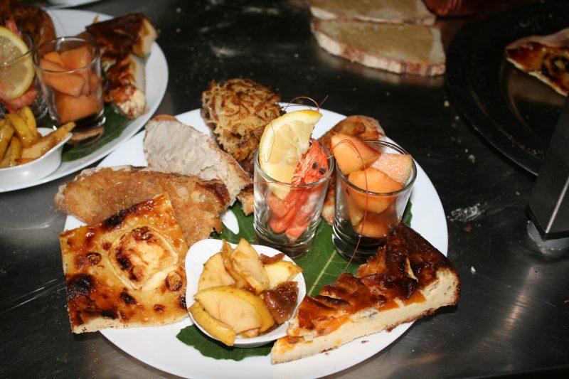 AU SOLEIL D'OC-Le restaurant du camping AU SOLEIL D'OC-MONCEAUX SUR DORDOGNE