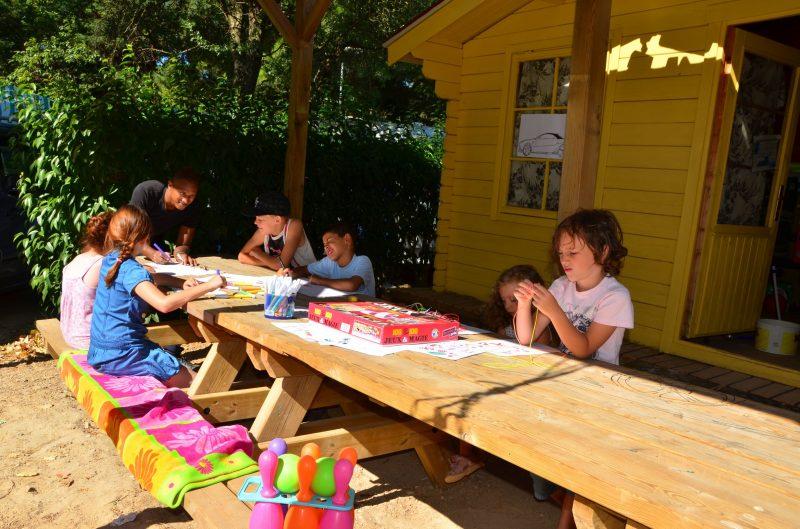 LE MAS DU PADRE-Le mini-club enfants-BALARUC LES BAINS