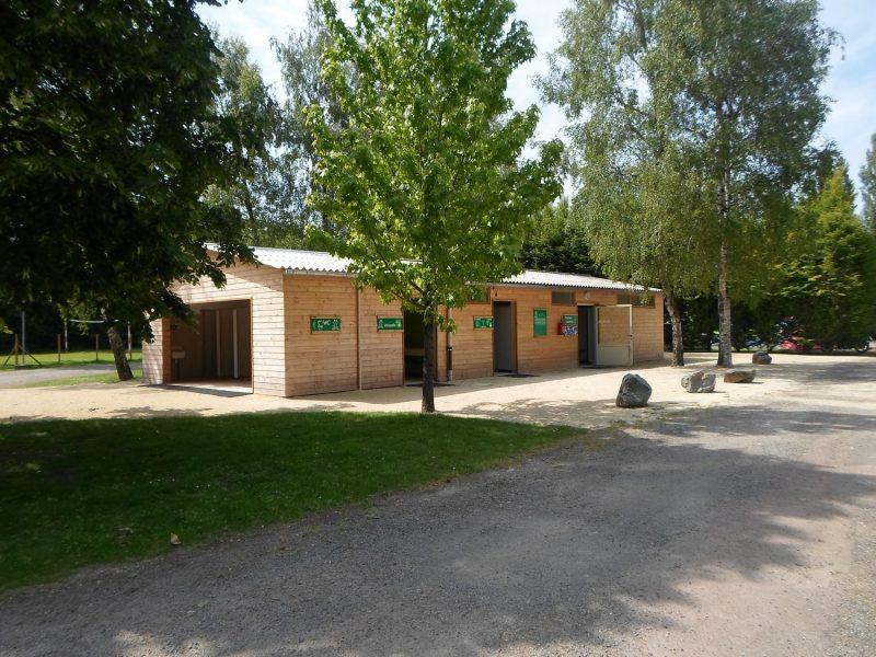 LE MARTIN PECHEUR-Le camping LE MARTIN PECHEUR, les Deux-Sévres-MAGNE