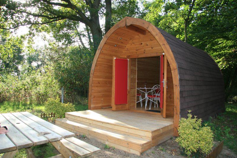 LE JARDIN DE SULLY-Les hébergements insolites du camping LE JARDIN DE SULLY-SAINT PERE SUR LOIRE