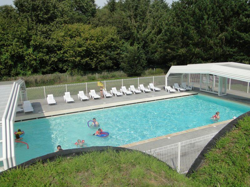LE ROMPVAL-La piscine du camping LE ROMPVAL-MERS LES BAINS