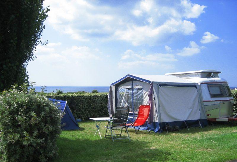 L'OCEAN-Les emplacements du camping L'OCEAN-NEVEZ
