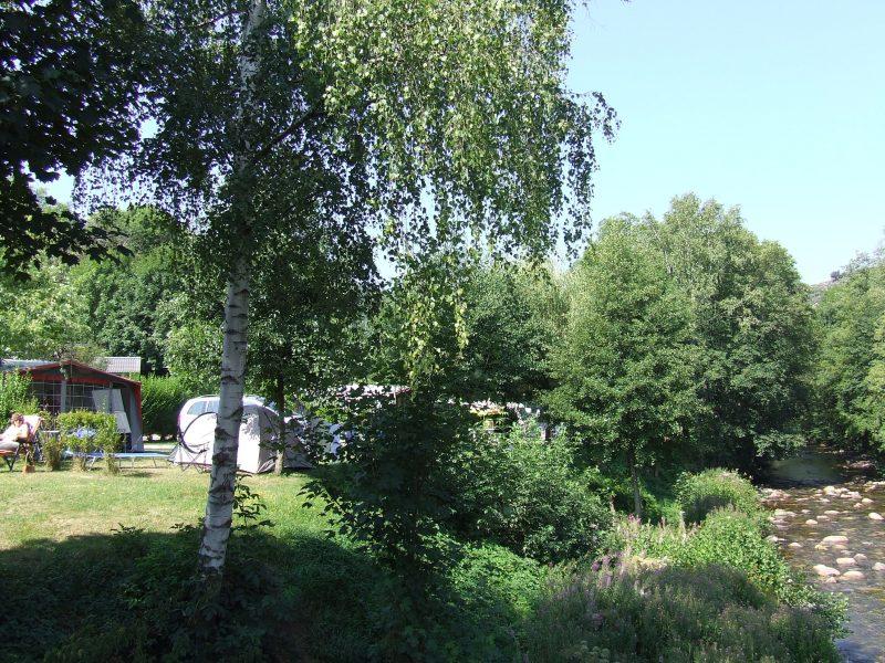 LE TIVOLI-Le camping LE TIVOLI, la Lozère-BAGNOLS LES BAINS