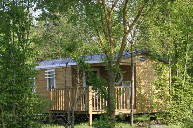 CAMPING L'ILE CARIOT-Les mobil-homes du camping CAMPING L'ILE CARIOT-CHAILLE LES MARAIS