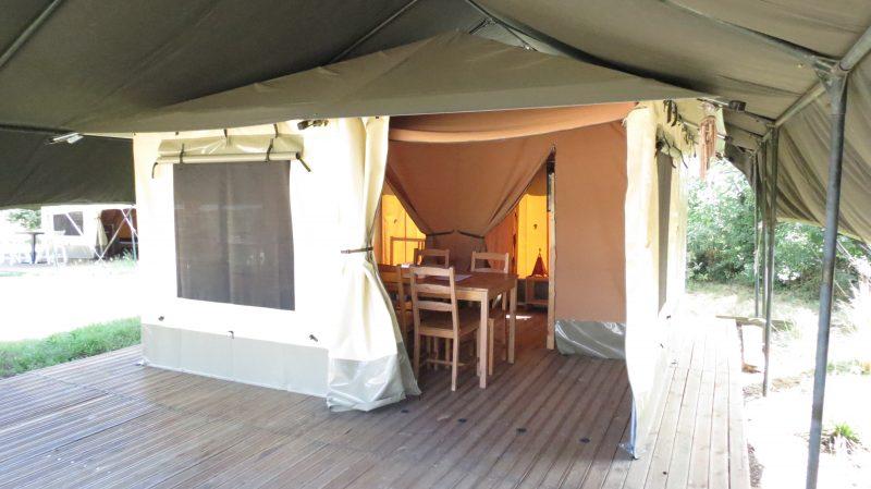L'ETANG DU PUY-Les hébergements insolites du camping L'ETANG DU PUY-SAINT MARS LA REORTHE