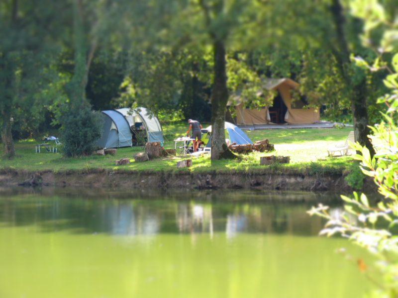 L'ETANG DU PUY-Un camping en bord d'étang das Departement Vendée-SAINT MARS LA REORTHE