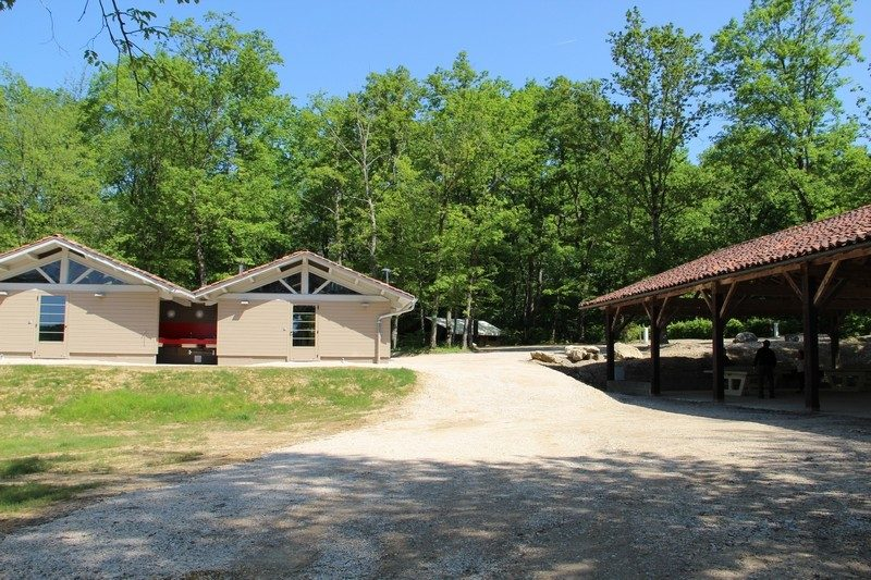 LA GRANGE DU PIN-Un camping en pleine nature-TREFFORT CUISIAT