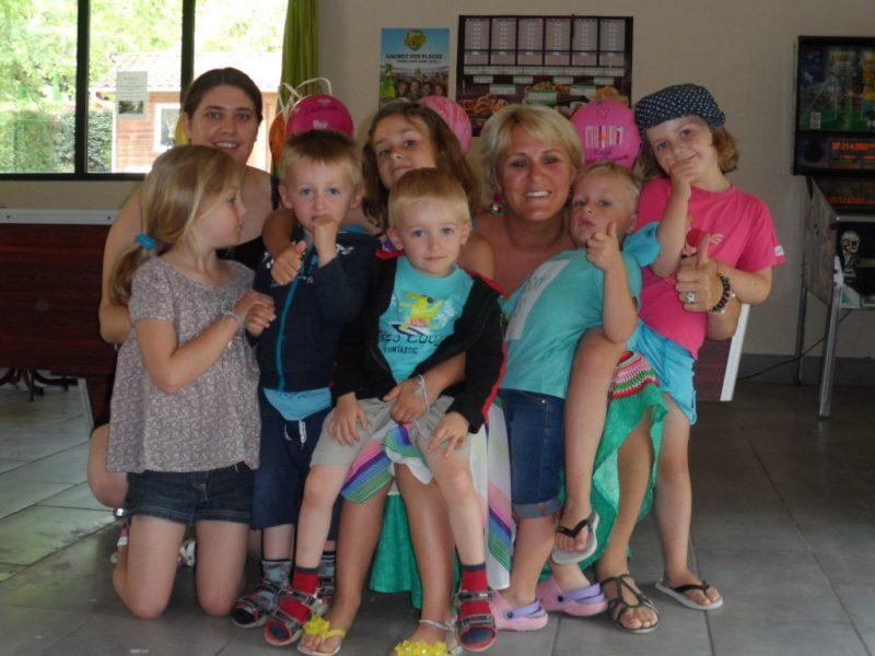 CAMPING LE REPAIRE-Le mini-club enfants-THIVIERS