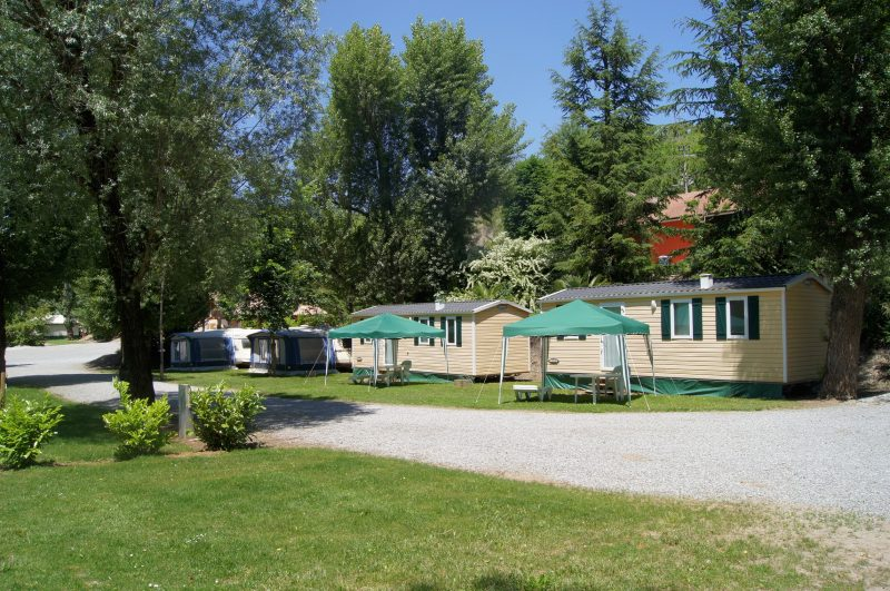 LES BORDS DU TARN - Les mobil-homes du camping LES BORDS DU TARN - MOSTUEJOULS
