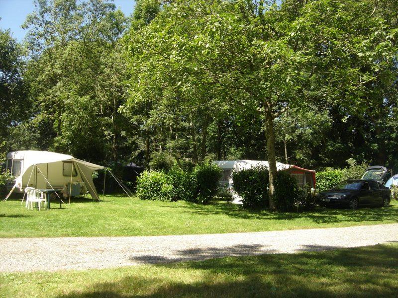 CAMP DE CROAS-AN-TER-Les emplacements du camping CAMP DE CROAS-AN-TER-CLOHARS CARNOET