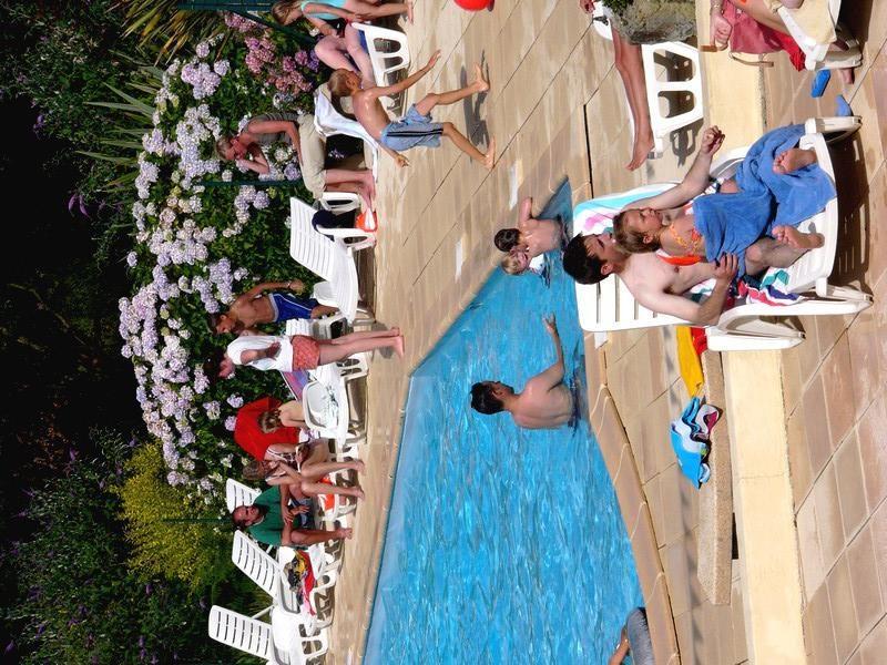 LE PANORAMIC-La piscine du camping LE PANORAMIC-TELGRUC SUR MER