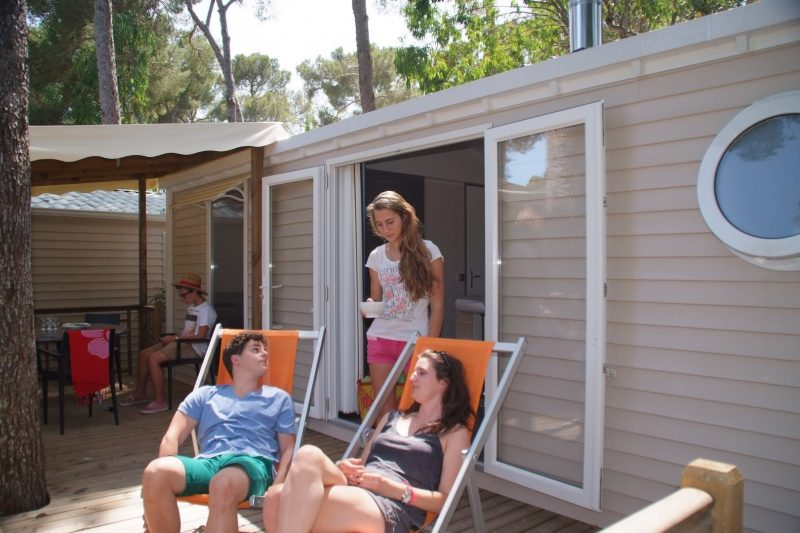 SELECTION CAMPING - Les mobil-homes du camping SELECTION CAMPING - CROIX VALMER