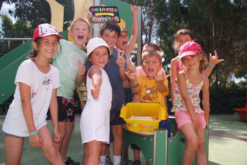 SELECTION CAMPING-Le mini-club enfants-CROIX VALMER