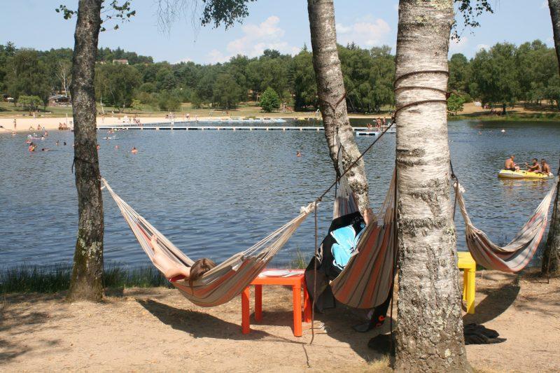 LE LAC DE MIEL-Un camping en bord d'étang das Departement Corrèze-BEYNAT