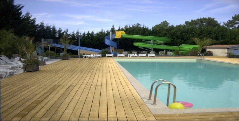 LE COQ HARDI-Jeux aquatiques au camping LE COQ HARDI, la Gironde-LANTON