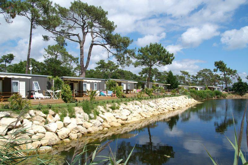 LES VIVIERS-Hébergements haut de gamme du camping LES VIVIERS-LEGE CAP FERRET
