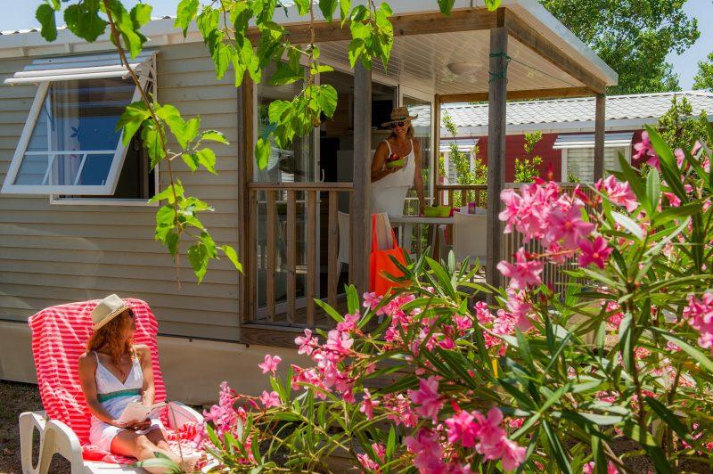 MEDITERRANEE PLAGE-Les mobil-homes du camping MEDITERRANEE PLAGE-VIAS