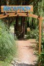 LE PRESSOIR-L'entrée du camping LE PRESSOIR-PETIT PALAIS ET CORNEMPS