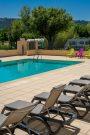 FELIX DE LA BASTIDE-La piscine du camping FELIX DE LA BASTIDE-SAINT MITRE LES REMPARTS